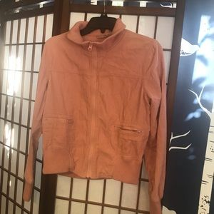 Pink corduroy med jacket by RUBBISH